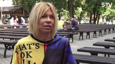 Petropavlovska: es dzīvoju tā, it kā man nav vecuma