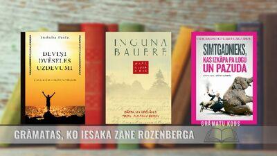 Grāmatas, ko iesaka tulkotāja Zane Rozenberga