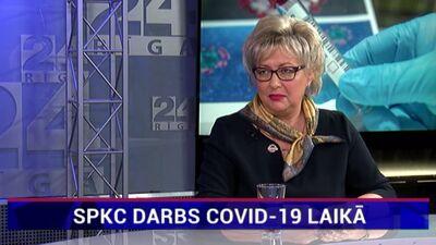 SPKC direktore par centra darbu Covid-19 pandēmijas apstākļos