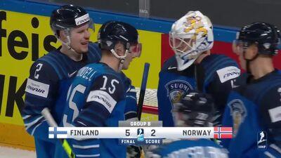Spilgtākie momenti: Somija pret Norvēģiju