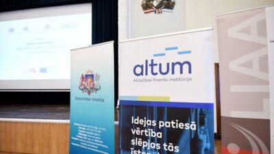 Kokins: Valsts un ALTUM izveidotās programmas ir laba un efektīva lieta