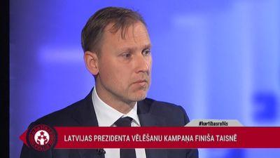 Gobzems: Šīs prezidenta vēlēšanas šobrīd ir farss
