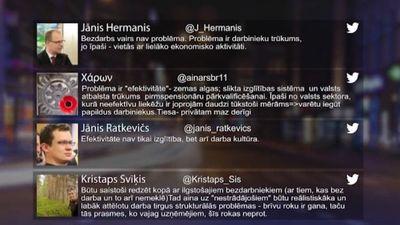 Tvitersāga: Latvijā trūkst darba roku
