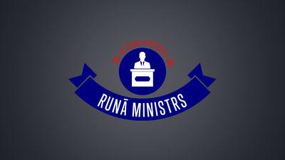 Runā ministrs