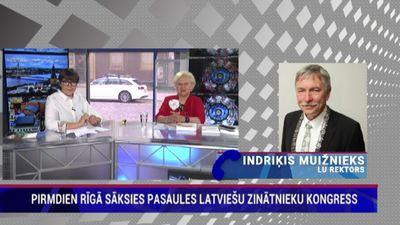 Indriķis Muižnieks par nākotnes vīziju pasaules latviešu zinātnieku kongresā