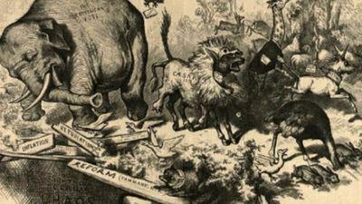 Aplūko: Vēsturiski nozīmīga politiskā karikatūra