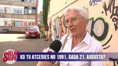 Rajonā runā: ko tu atceries no 1991. gada 21. augusta?
