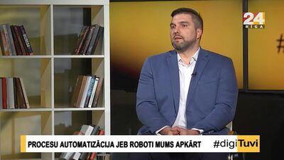 """""""Digital Mind"""" valdes loceklis Edgars Stafeckis par procesu automatizāciju uzņēmumā"""