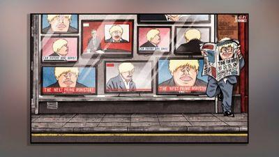 Karikatūru apskats: Debates par nākamo Lielbritānijas premjerministru