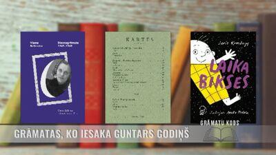 Grāmatas, ko iesaka Guntars Godiņš