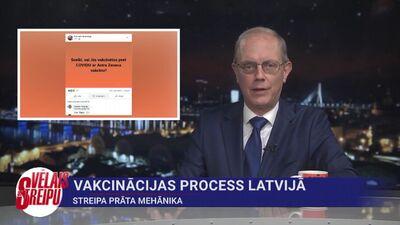 Streipa prāta mehānika: Vakcinācijas process Latvijā