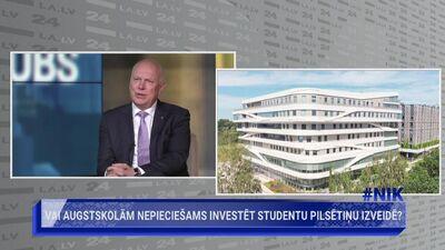 Andris Sarnovičs: Interese un vēlme studēt Latvijas Universitātē ir augusi