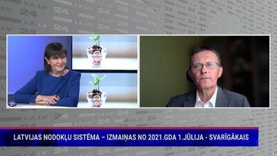 Andra Vilka komentārs par izmaiņām nodokļu sistēmā no 1. jūlija