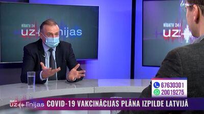 Andrejs Ērglis pastāsta par pašsajūtu pēc saņemtām divām Covid-19 vakcīnām