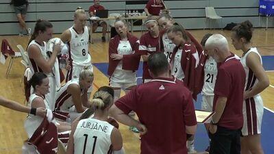 Latvija - Somija. Pārbaudes spēle basketbolā sievietēm. Spēles ieraksts