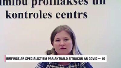 Speciālizlaidums: Brīfings ar speciālistiem par aktuālo situāciju ar Covid-19