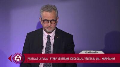 Latkovskis: Partiju sistēma sāk premzēt politiku Latvijā