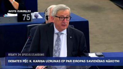 Speciālizlaidums: Premjera Kariņa uzruna Eiropas Parlamentā  2. daļa
