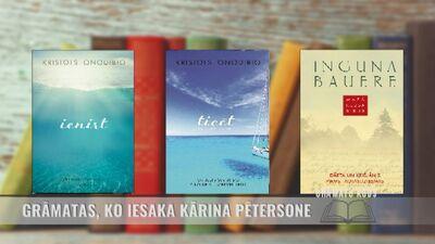 Grāmatas, ko iesaka Kārina Pētersone
