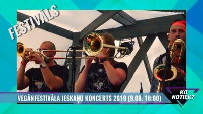 Vegānfestivāla ieskaņu koncerts 2019