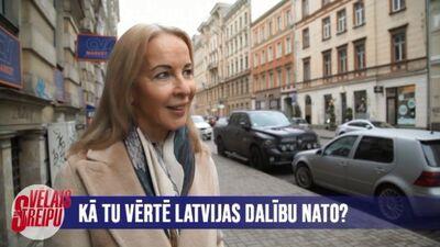 Iedzīvotāji par Latvijas dalību NATO