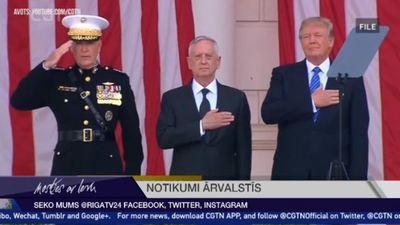 ASV aizsardzības ministrs Matiss atkāpjas no amata