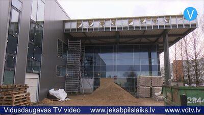 21.02.2020 Multifunkcionālās sporta halles būvniecība