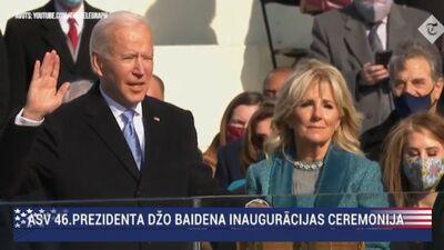 Speciālizlaidums: ASV 46. prezidenta inaugurācijas ceremonija 3. daļa