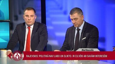 Šmits: Latvijā šobrīd ir izšķiršanās starp demokrātiju un autokrātiju