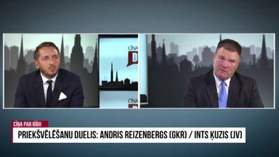 Priekšvēlēšanu duelis: Reizenbergs/ Ķuzis