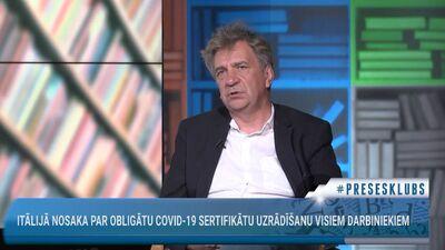 Ēķis: Latvijā vakcinācijas kampaņas bja izšķiesta nauda