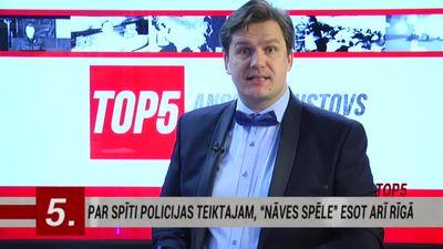 02.03.2017 Ziņu top 5