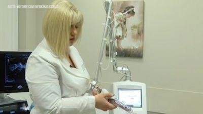 Urīna nesaturēšanas ārstēšana sievietēm ar lāzermetodi