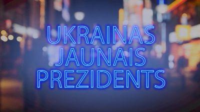 Tvitersāga: Ukrainas jaunais prezidents
