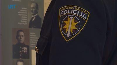 """Valsts policijas izstāde """"Latvijas Republikas policija: 1918-1940"""""""