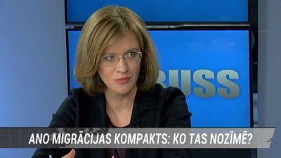 """""""Šis nav bēgļu uzņemšanas dokuments,"""" Zanda Kalniņa par ANO Migrācijas kompaktu"""