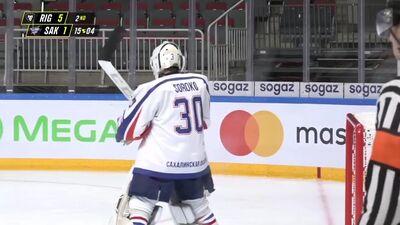 MHL (Jaunatnes hokeja līga): HK Rīga - Sakhalinskie Akuly. Spēles ieraksts (19.09)