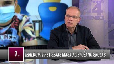 Keris: Masku nēsāšanai sabiedrībā nav statistisku pierādījumu infekcijas ierobežošanai