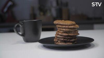 Šokolādes cepumu recepte ar paštaisītām piparkūku garšvielām