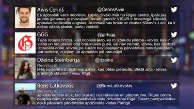Tvitersāga: Dzīve Rīgas centrā