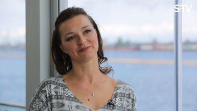 Marija Naumova par to, kā ir būt mammai
