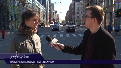 Palielinājies gaisa piesārņojums Rīgā
