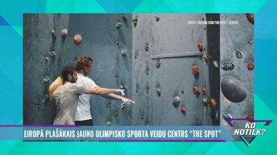 """Eiropā plašākais jauno olimpisko sporta veidu centrs """"The Spot"""""""