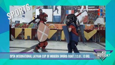 Tikai šodien - Atvērtais kauss modernajās zobenu cīņās!