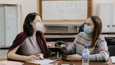 Geduševa: Ir pamatskola, kurā pedagogs klasi sadala vakcinētajos un nevakcinētajos