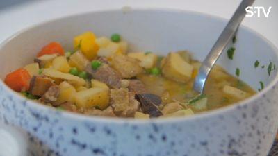 Īru jēra gaļas sautējuma recepte