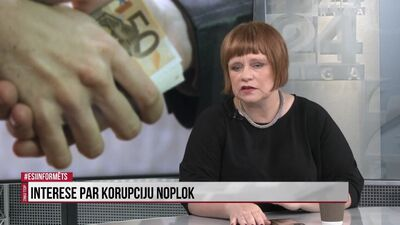 Vai interese par korupciju noplok?