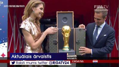 Francijas futbola izlase izcīna Pasaules kausu