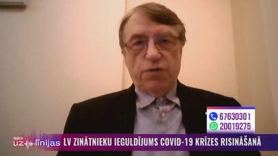 """Ivars Kalviņš par """"Pfizer/BioNTech"""" un """"Astra Zeneca"""" vakcīnām"""