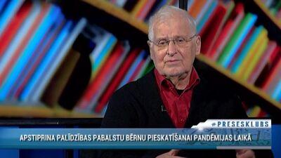 Juris Cālītis par palīdzības pabalstu bērnu pieskatīšanai pandēmijas laikā